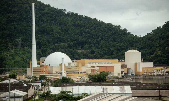 Usinas nucleares de Angra 1 e Angra 2, no estado do Rio de Janeiro
