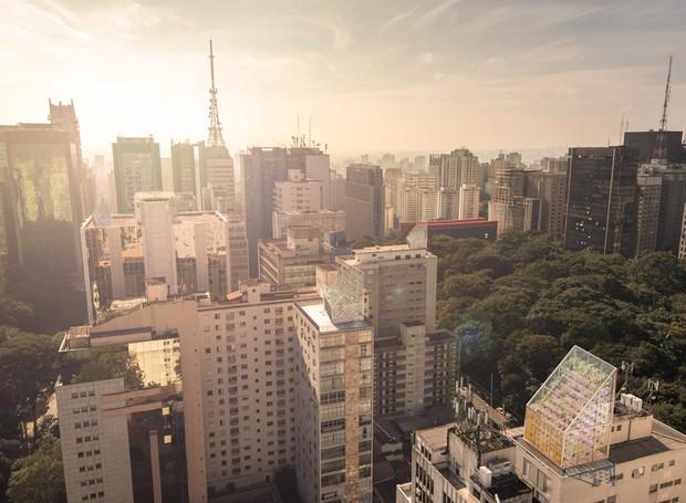 Para as cidades, as estufas podem ser instaladas nos topos dos prédios (Foto: Deezen/ Reprodução)