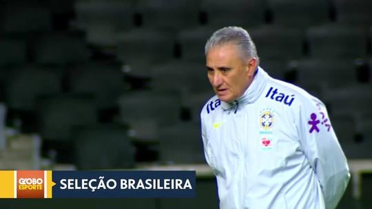 Seleção Brasileira faz o último amistoso do ano