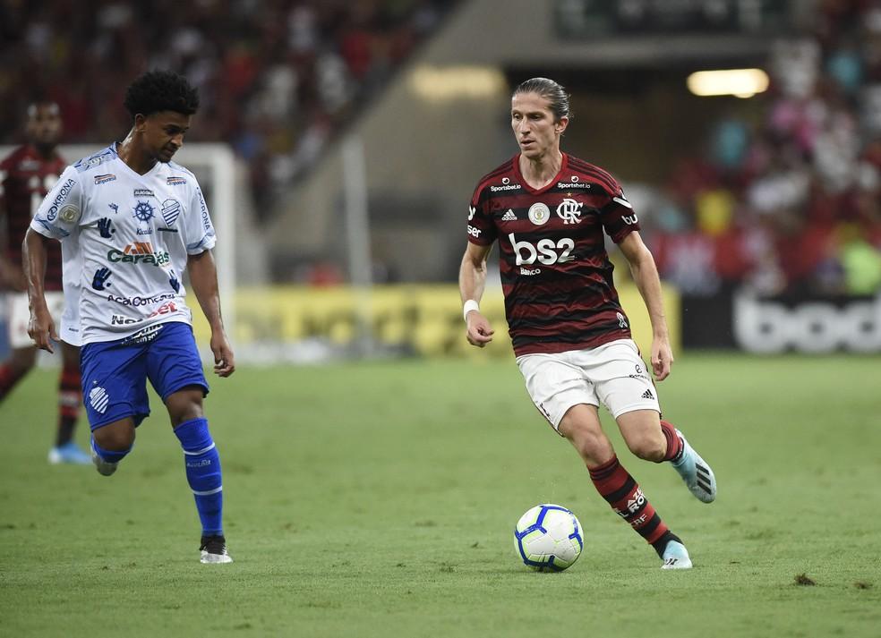 Flamengo x CSA — Foto: André Durão