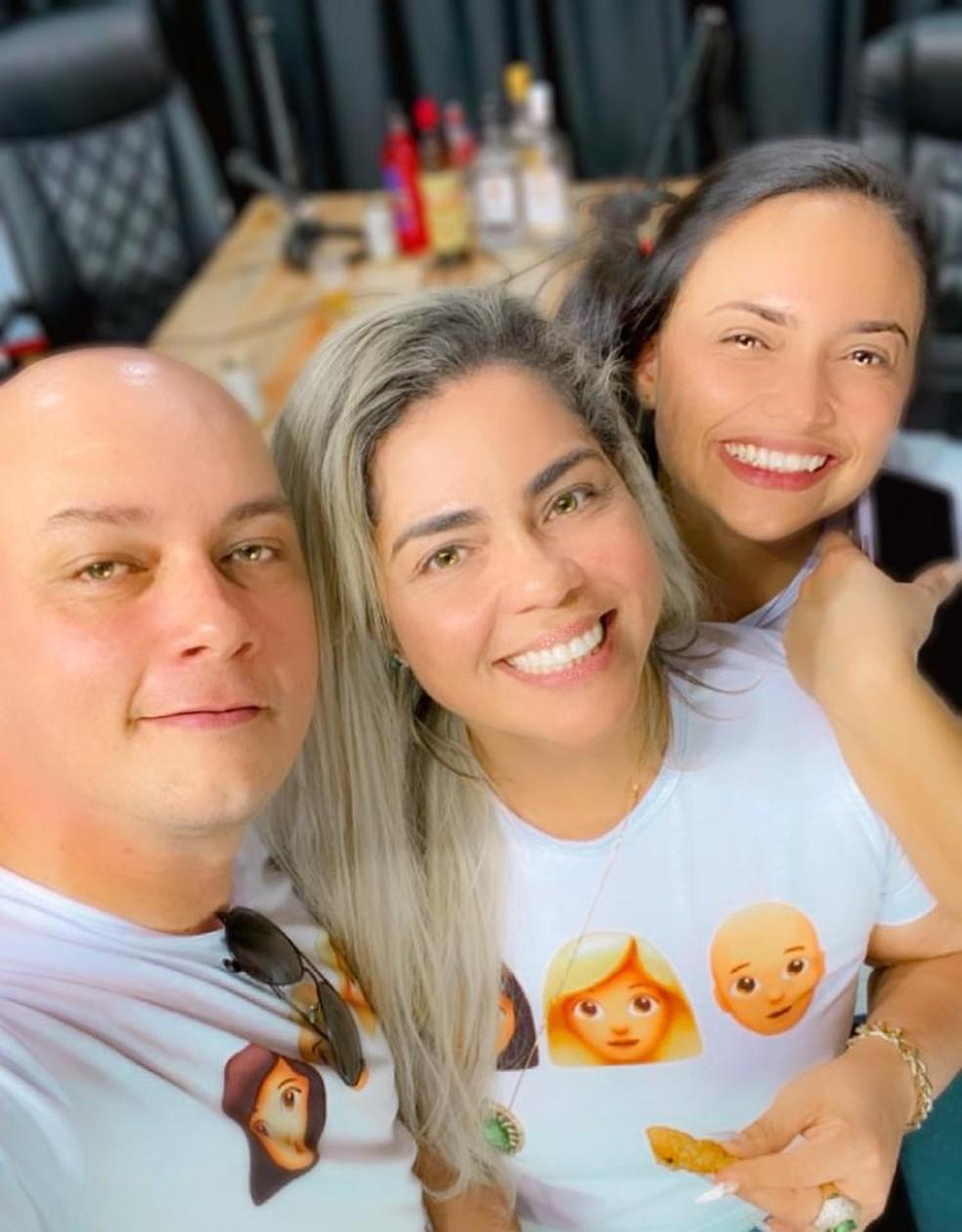 Para os três lealdade é um dos pilares da relação — Foto: Arquivo pessoal