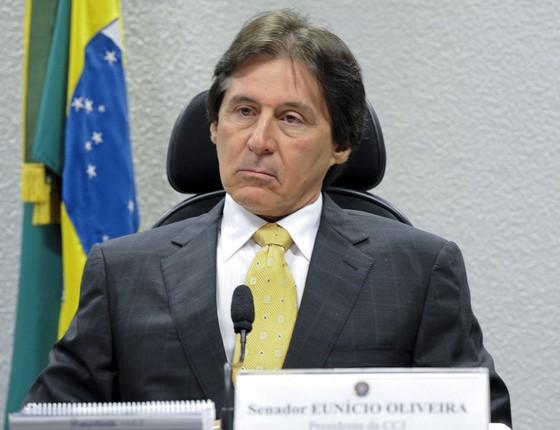 O presidente do Senado, Eunício Oliveira (Foto: Ana Volpe/Agência Senado)