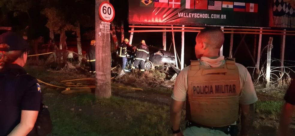 Homem morreu em acidente em rodovia de Itajaí  — Foto: Maria do Carmo/Arquivo pessoal