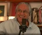 Caetano Veloso em live do Globoplay | Reprodução