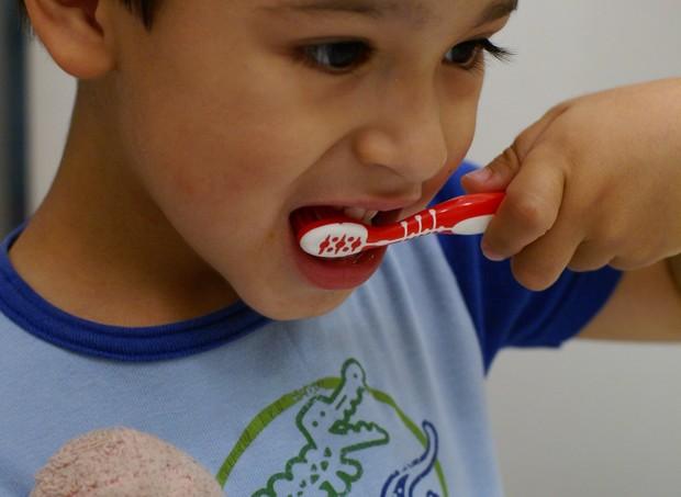 As crianças estão usando mais paste de dente do que deveriam, segundo pediatras americanos (Foto: all in green/ flickr)