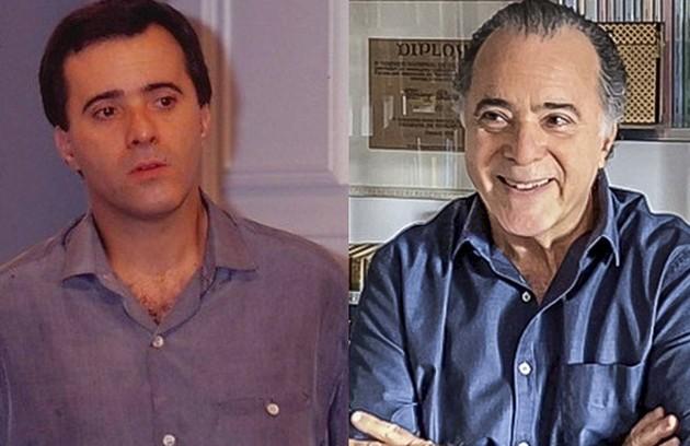 Tony Ramos interpretou Álvaro, advogado que tinha uma relação conturbada com a mulher, Débora. O ator foi escalado para a nova novela das 21h de João Emanuel Carneiro (Foto: Globo)