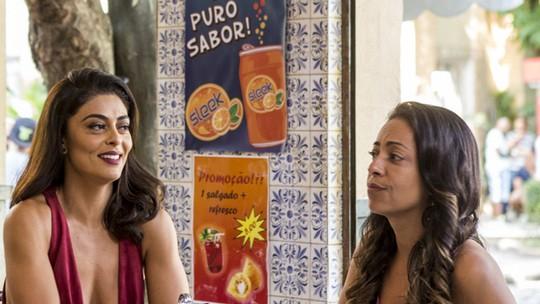 Juliana Paes comenta participação no spin-off: 'Optei por fazer a Carolina mais despojada'