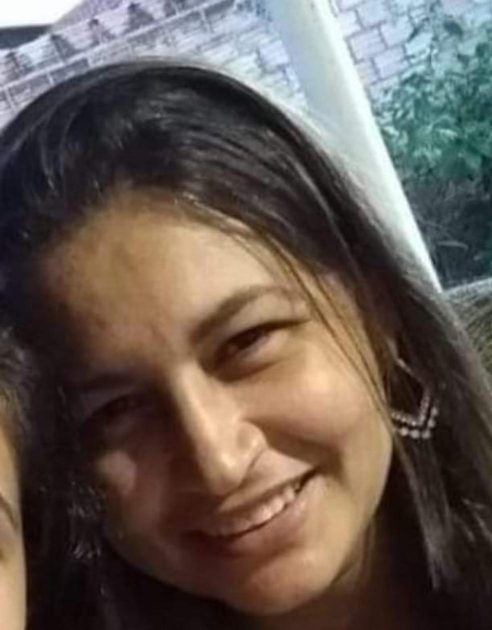 Marlene Roque da Cruz, de 39 anos, foi assassinada no Distrito Ouro Branco, município de Nova Canaã do Norte — Foto: Arquivo pessoal