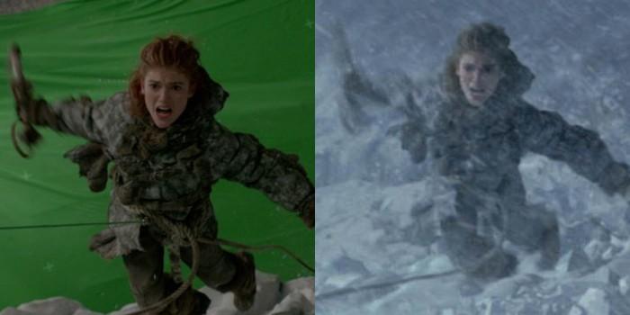 """Efeitos especiais em """"Game of Thrones"""" (Foto: Divulgação)"""
