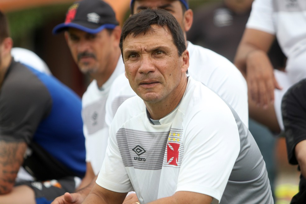 Zé Ricardo, técnico do Vasco (Foto: Paulo Fernandes/Vasco)
