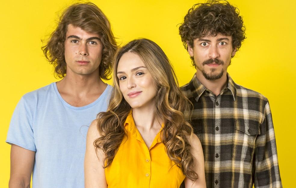 Patotinhas se prepararam para a sequência do filme sobre o grupo! — Foto: Globo/João Cotta