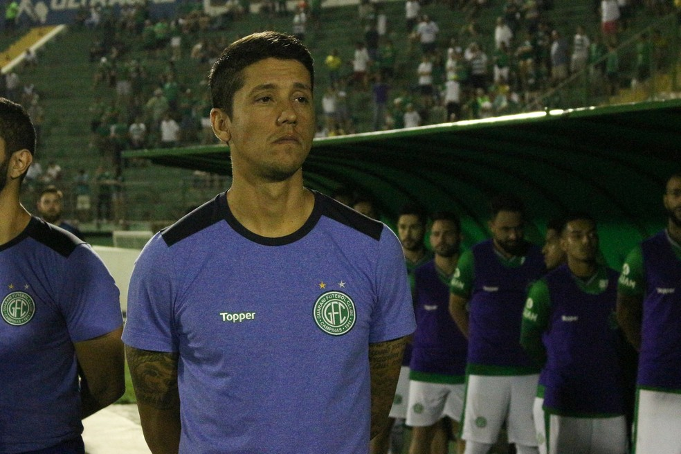 Thiago Carpini técnico Guarani — Foto: David Oliveira / Guarani FC