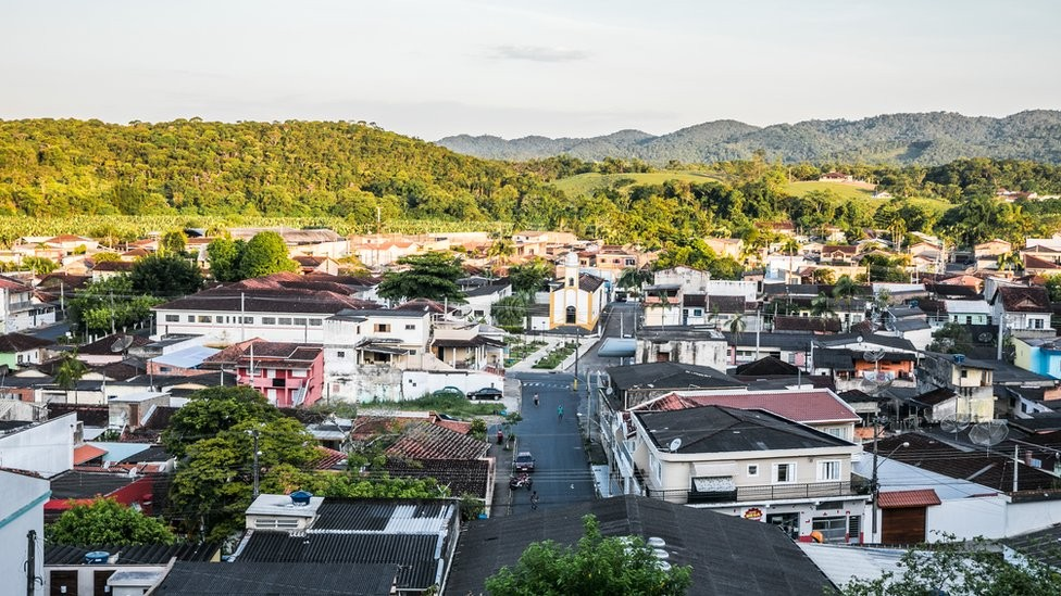 Cidade de Eldorado (Foto: FERNANDO CAVALCANTI/BBC NEWS BRASIL)