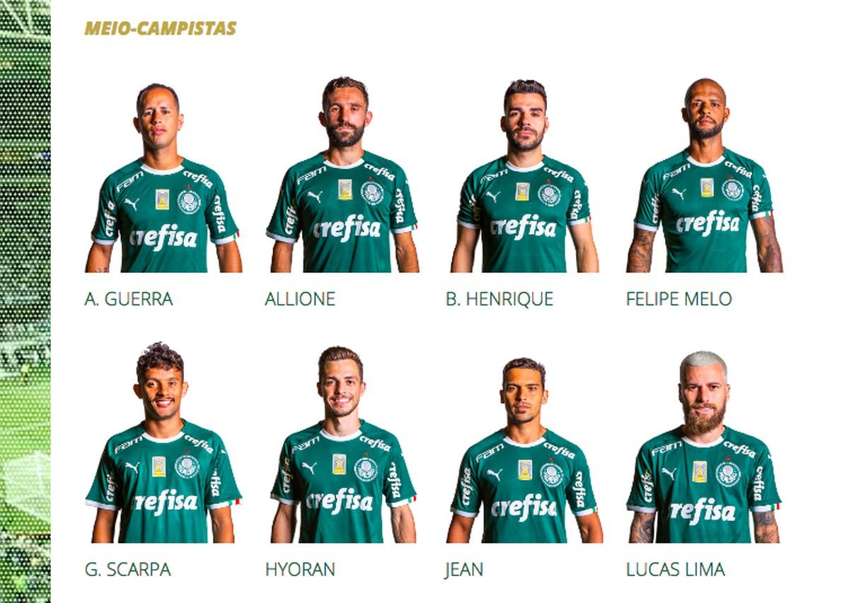 Palmeiras atualiza página do elenco com fotos 165264133f75d