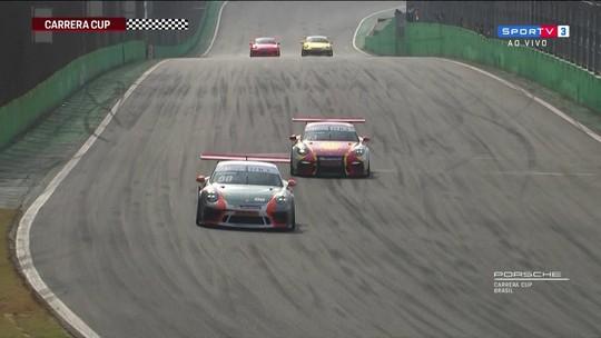 Constantino Jr. vence segunda corrida da 9ª etapa da Carrera Cup 4.0 da Copa Porsche