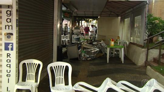 Dono de lanchonete morto após anúncio de assalto em Goiânia lutou com ladrões antes de levar tiro, diz funcionária