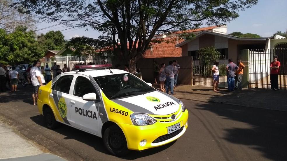 A adolescente contou em depoimento à polícia que o tio chegou embriagado em casa, por volta do meio-dia, e começou uma discussão. (Foto: João Dutra/RPC)