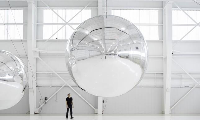 Protótipo de satélite não-funcional