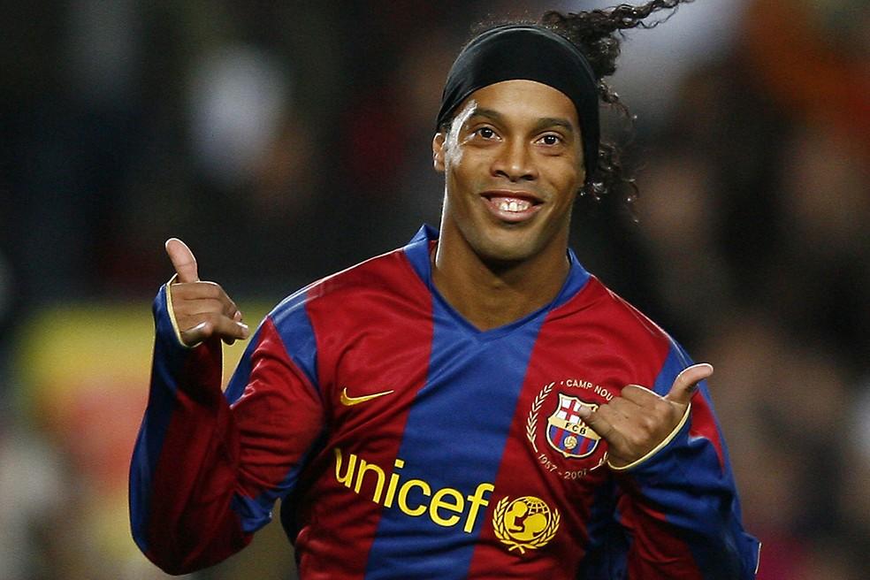 Ronaldinho Gaúcho, o rei dos rolês aleatórios — Foto: Reprodução/Felipe Vinha