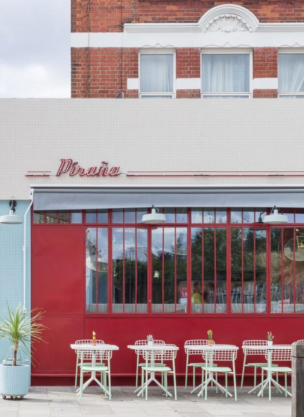 Bar e Restaurante Piraña, em Londres (Foto: Nicholas Worley/divulgação)