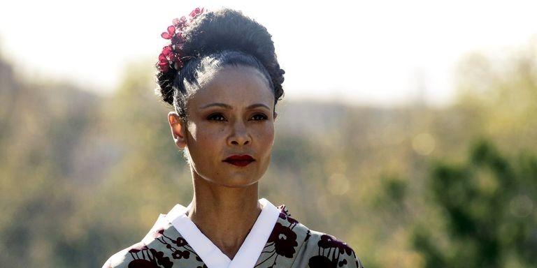 Maeve no quinto episódio da segunda temporada de Westworld (Foto: Divulgação)
