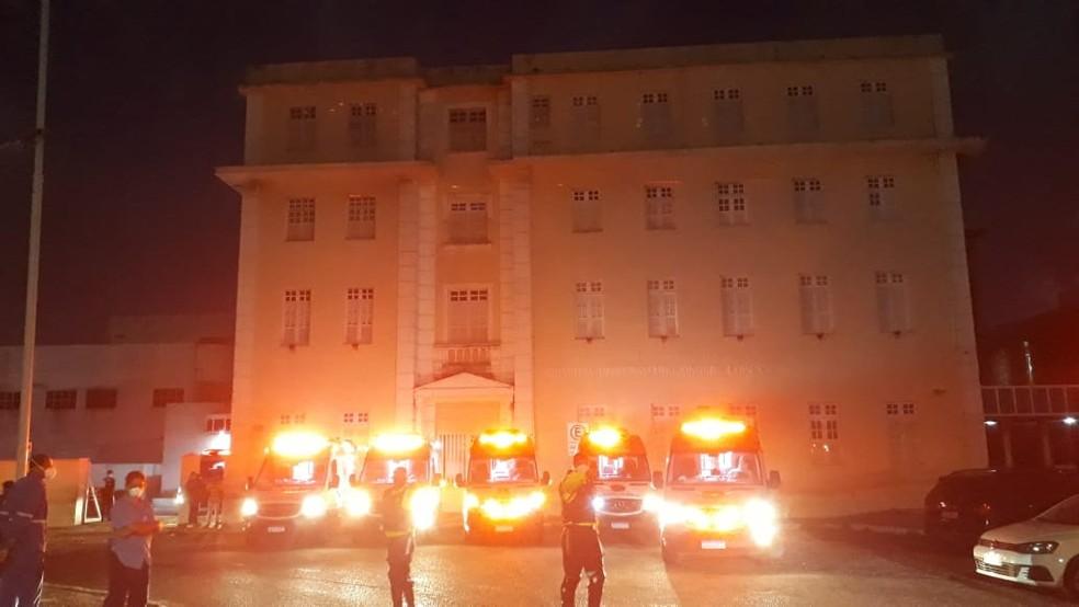Huol foi uma das unidades hospitalares do RN que recebeu pacientes transferidos do AM — Foto: Assessoria HUOL/Divulgação