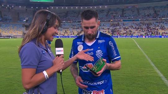 Dois gols, criação: emprestado pelo São Paulo, Jonatan Gómez vira peça-chave no CSA