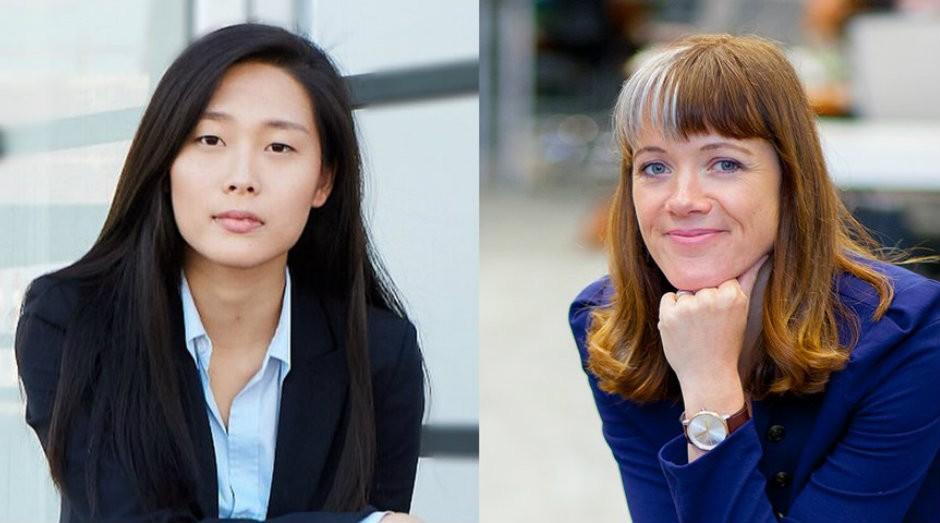 Alison Darcy e April Koh são as fundadoras das starutps Woebot e Spring Health  (Foto: Reprodução)