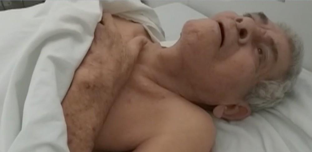 Idoso é transferido para hospital após dois meses internado em UPA em MT