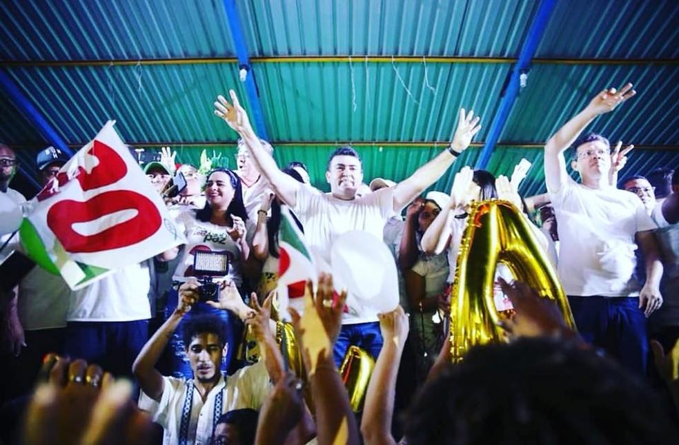 Edvan Brandão eleito prefeito de Bacabal — Foto: Divulgação/Assis Filho