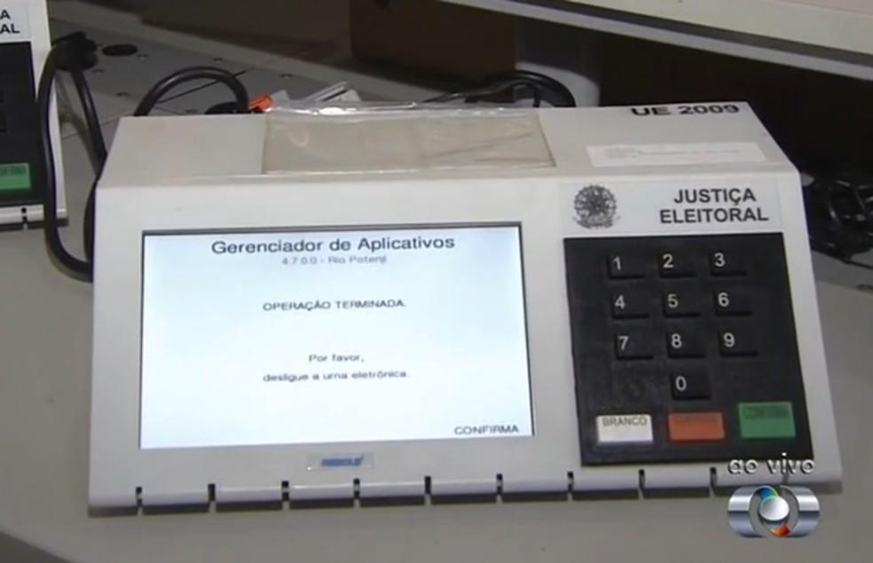 -  TRE fecha 37 zonas eleitorais para redistribuir eleitores em Goiás  Foto: Reprodução/TV Anhanguera