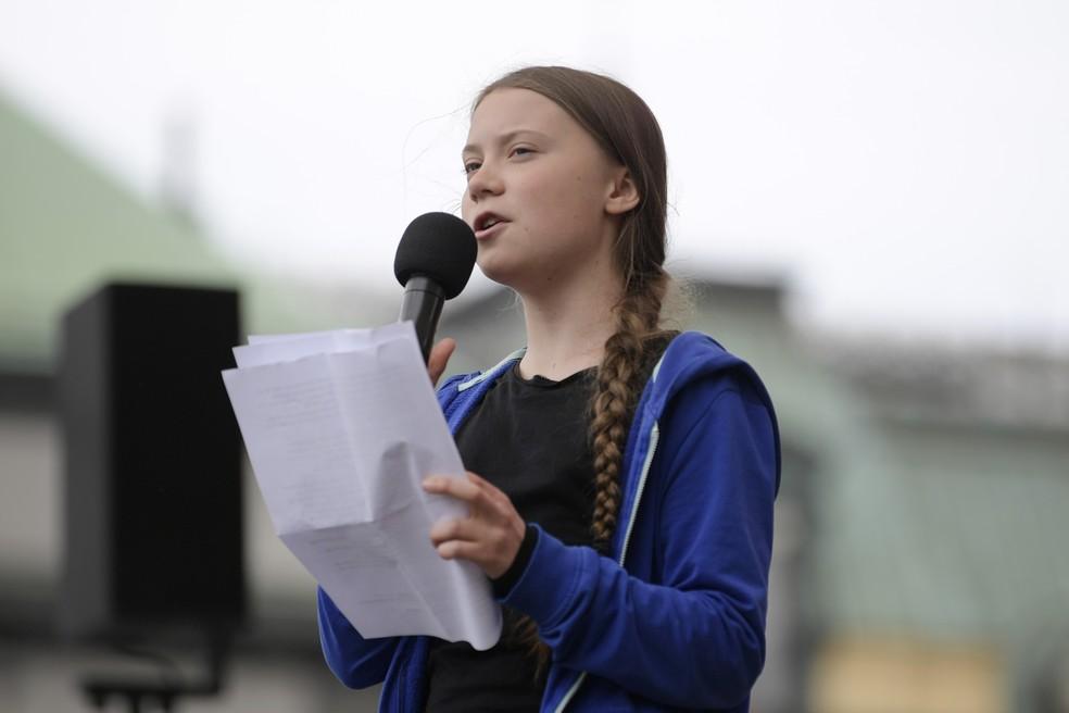 ap19144449492687 - Estudantes vão às ruas para o segundo protesto global contra a mudança climática