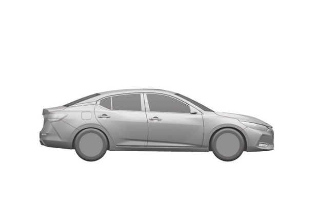 Nissan Sentra (Foto:  Reprodução/INPI)