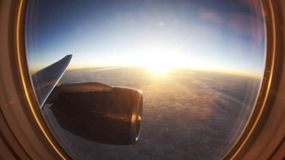 Já conseguiu ver a curvatura da Terra? — Foto: Getty Image via BBC