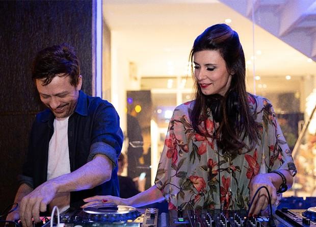 DJs Marcio Zanzi e Ale Rosa (Foto: Divulgação)