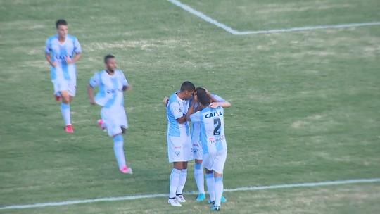Na estreia como titular, Keirrison marca após 17 meses e garante empate do Londrina
