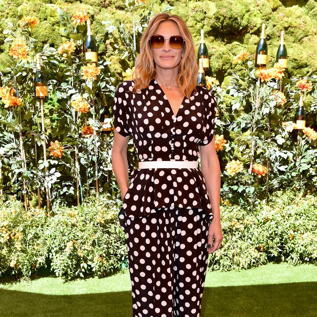 PACIFIC PALISADES, CALIFORNIA - OCTOBER 05: Julia Roberts attends the 10th Annual Veuve Clicquot Polo Classic Los Angeles at Will Rogers State Historic Park on October 05, 2019 in Pacific Palisades, California. (Photo by Axelle/Bauer-Griffin/FilmMagic) (Foto: FilmMagic)
