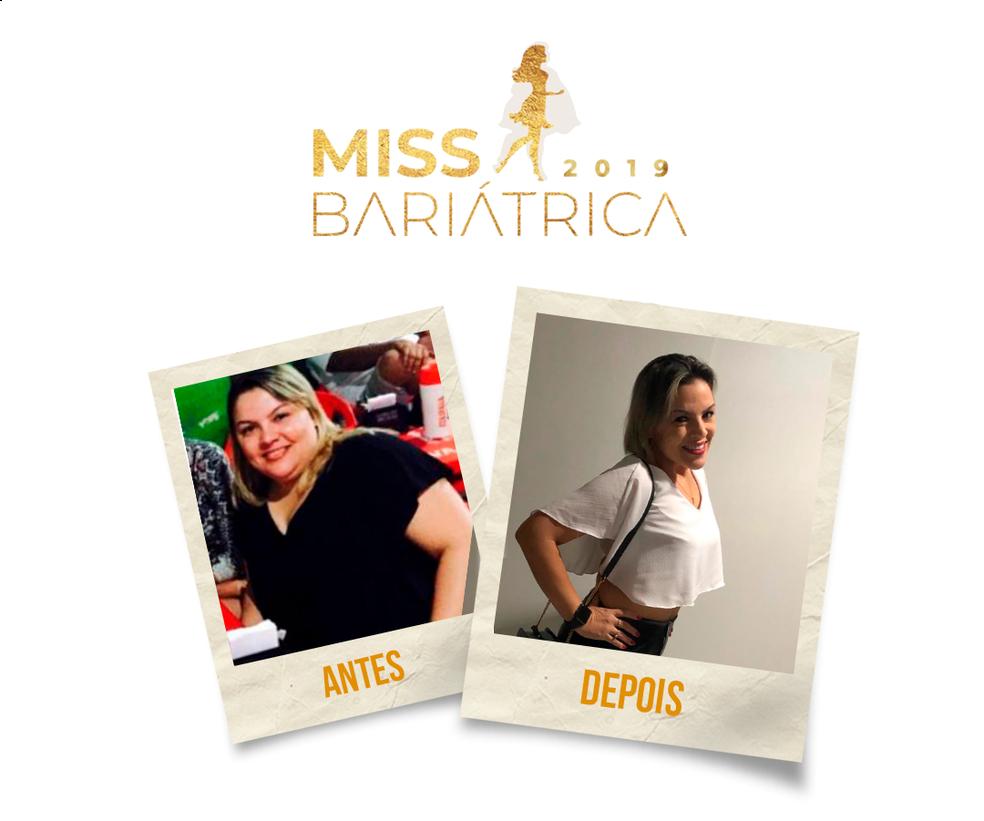 Graziele Rocha, 38 anos, finalista do Miss Bariátrica  — Foto: Divulgação