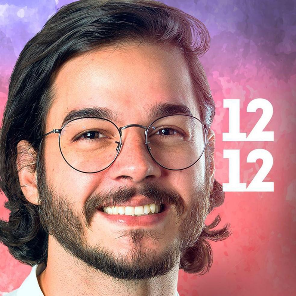 Túlio Gadêlha, que se elegeu deputado federal por Pernambuco — Foto: Divulgação