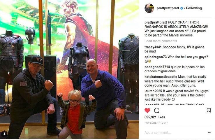 Chris Pratt (Foto: Instagram)