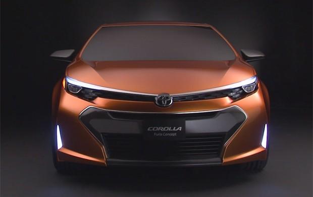 Auto Esporte - Toyota mostra conceito agressivo do novo ...