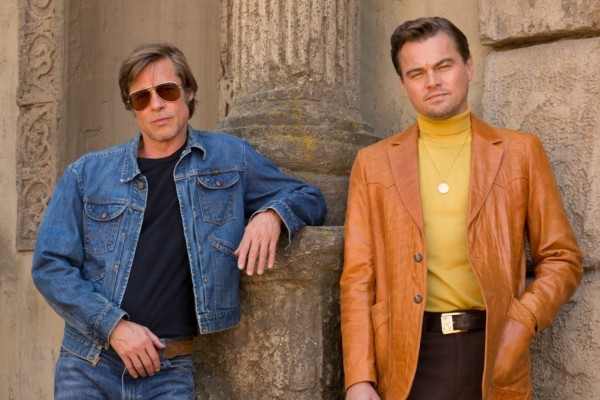 Pitt e DiCaprio em 'Once Upon a Time... in Hollywood' (Foto: Sony)
