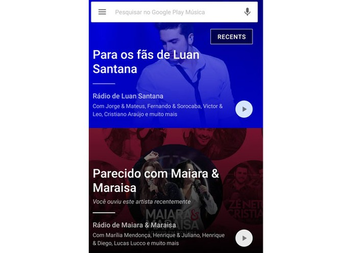 Google Play Música (Foto: Divulgação/Google Play Música)