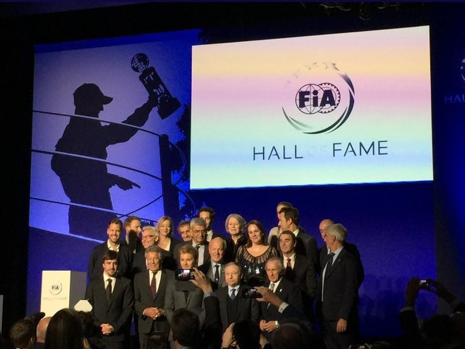 Em Paris, FIA inaugura seu Hall da Fama