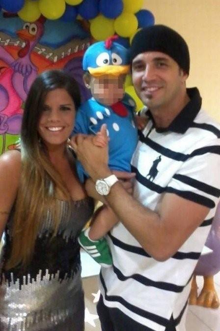 Fernanda Neiva Rodrigues, Bernardo e Latino (Foto: Reprodução Instagram)