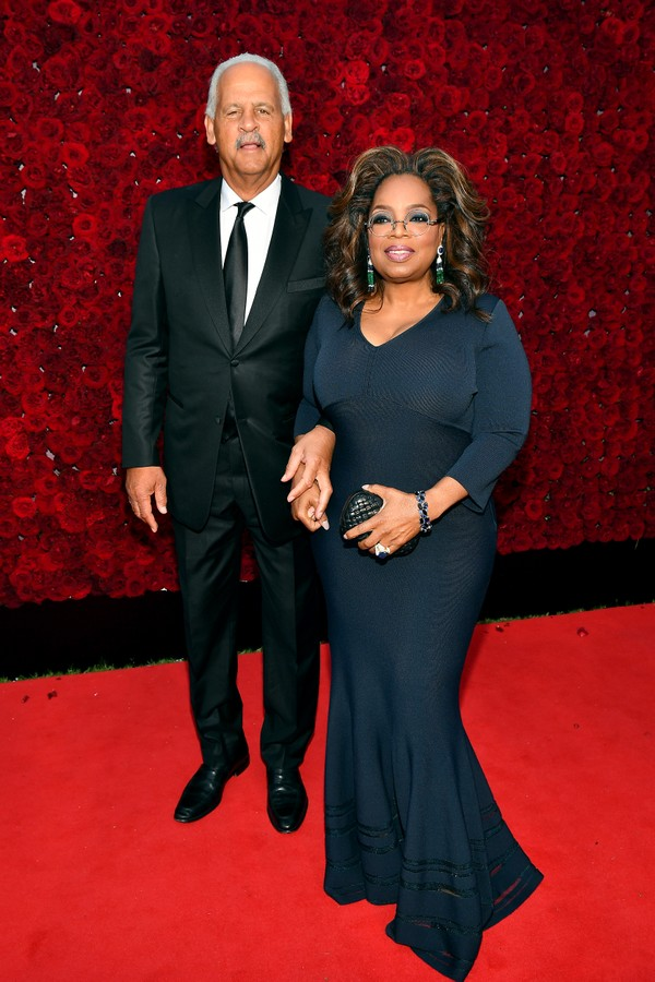 ATLANTA, GEORGIA - OCTOBER 05: Stedman Graham and Oprah Winfrey attend Tyler Perry Studios grand opening gala at Tyler Perry Studios on October 05, 2019 in Atlanta, Georgia. (Photo by Paras Griffin/Getty Images for Tyler Perry Studios) (Foto: Getty Images for Tyler Perry Stu)