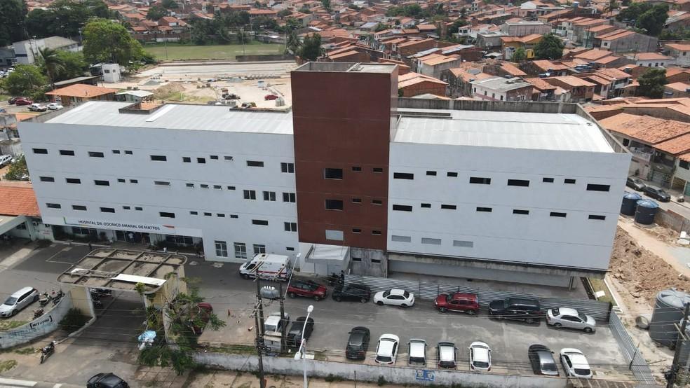 Justiça determina que 'Hospital da Criança' seja reformado — Foto: Divulgação/Governo do Maranhão