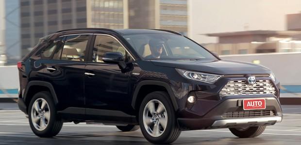 Toyota RAV4 SX hybrid - A Toyota chama  o novo estilo de Cross Octagon, ou octógonos cruzados (Foto: Leo Sposito)