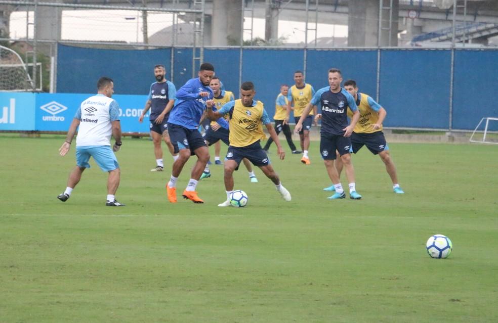André e Alisson devem ser as novidades do Grêmio (Foto: Eduardo Moura)