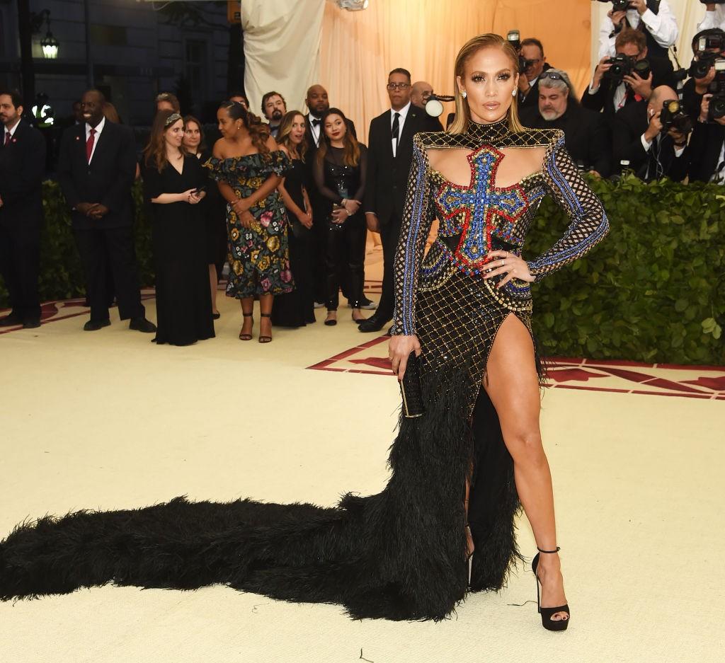 Jennifer Lopez no MET Gala 2018 (Foto: Getty Images)